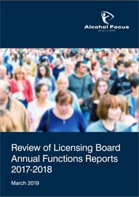 Annual functions report 2019 cover image